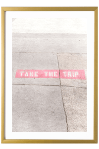 Contemporary Art Print - Take The Trip #1