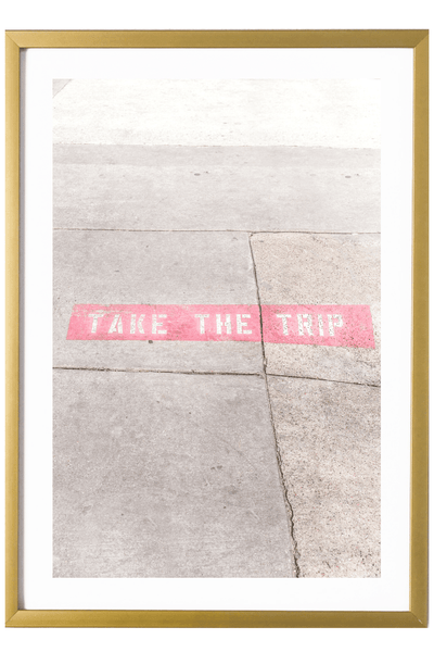 Contemporary Print - Contemporary Print - Take The Trip #1