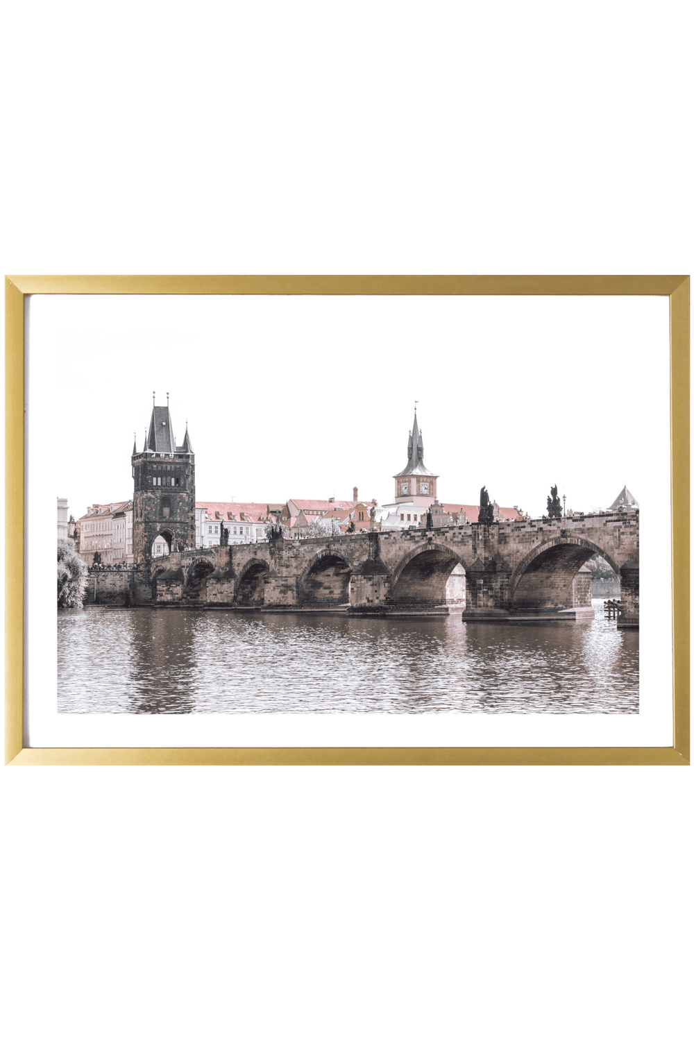 Prague Print - Charles Bridge #1