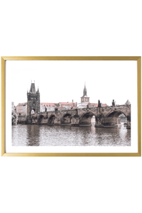 Prague Art Print - Charles Bridge #1