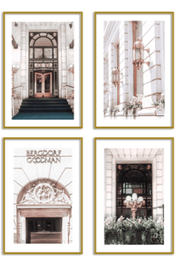 Gallery Wall Set of 4 - New York City Print Set - Charlotte