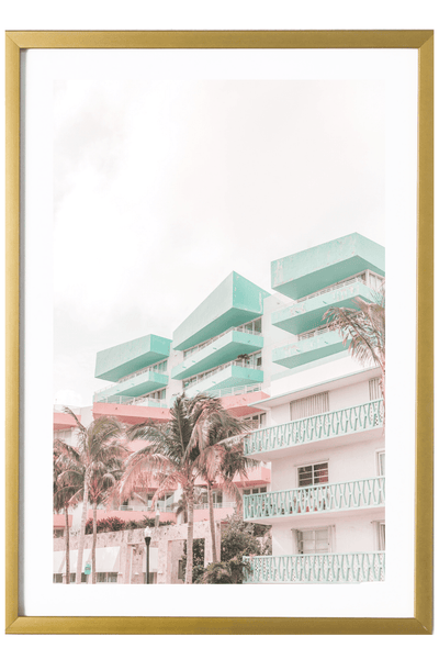 Miami Art Print - Angela