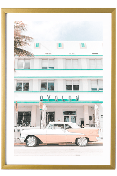 Miami Print - Avalon