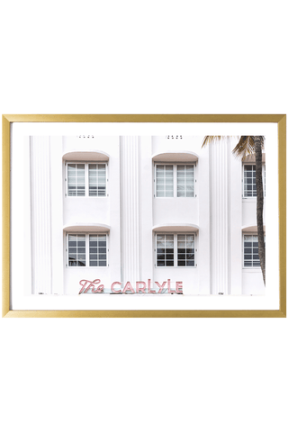 Miami Print - The Carlyle #1