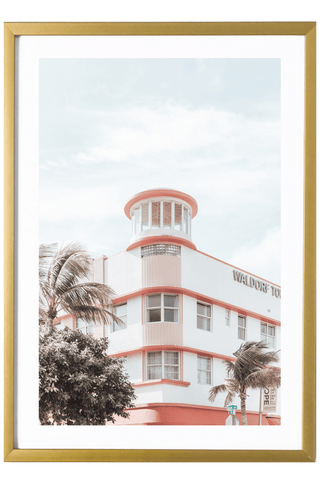 Miami Print - Waldorf Towers