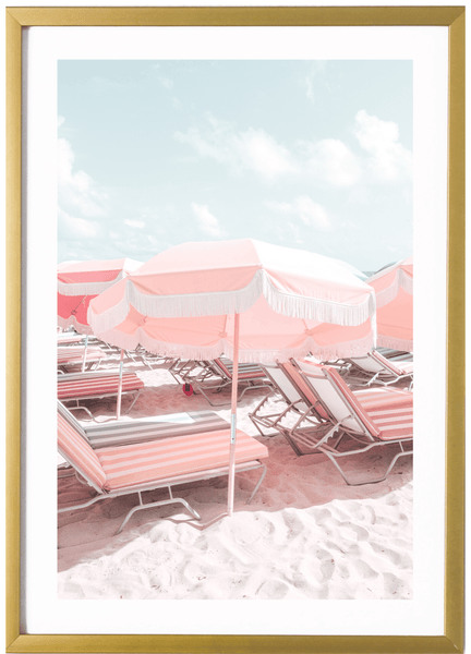 Miami Print - Miami Print - Yellow Umbrella