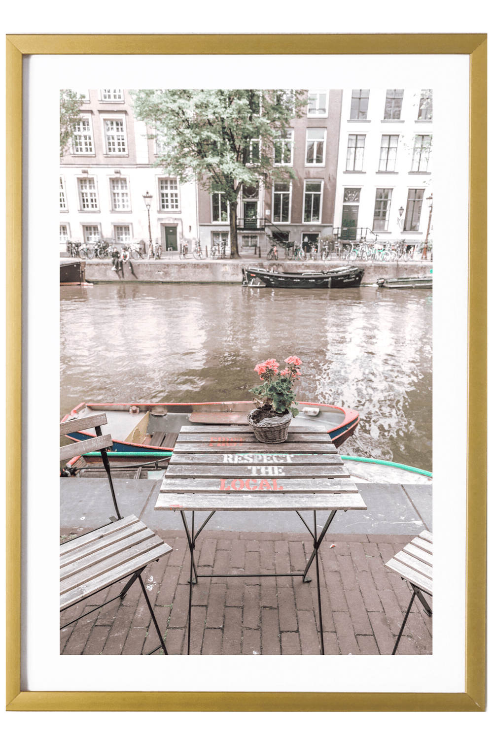 Amsterdam Print - First Respect the Local