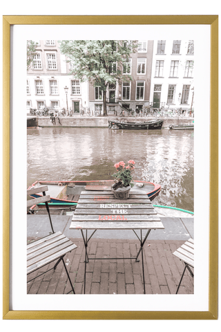 Netherlands Print - Amsterdam Print - First Respect the Local