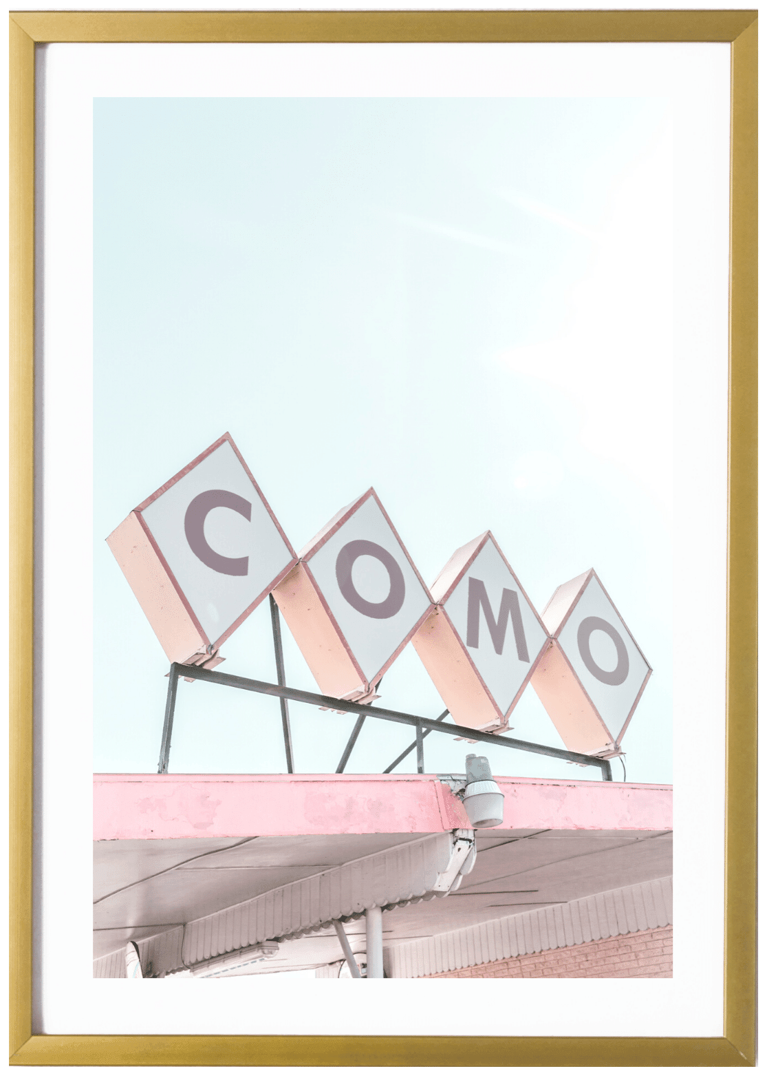On Sale - Dallas Print - Como #1 8x10