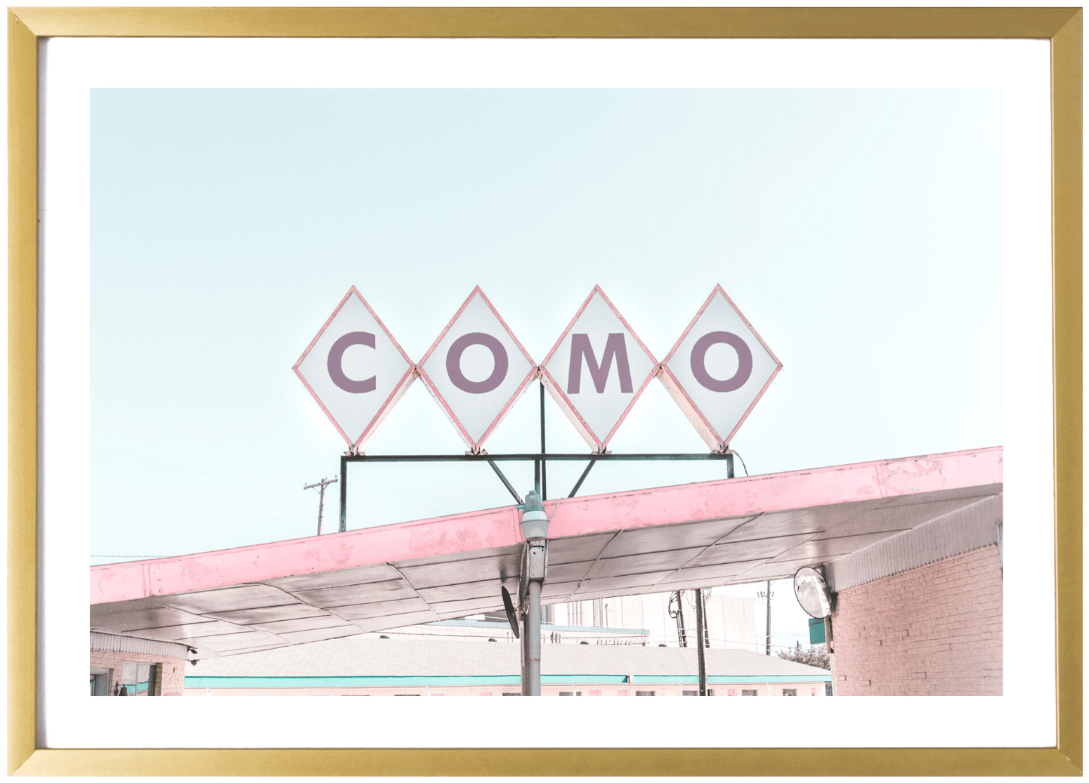 On Sale - Dallas Print - Como #3 11x14
