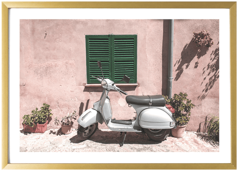 On Sale - Spain Print - Moped 8x12