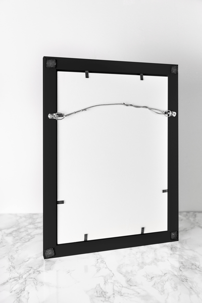 Picture Frame - Modern Wood Frame - Black