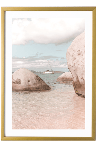 Tropical Print - Virgin Gorda Print - The Baths #3