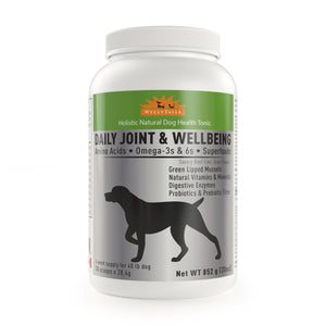 WELLYTAILS® DAILY JOINT & WELLBEING 852 grams (30 oz.) MADE IN CANADA