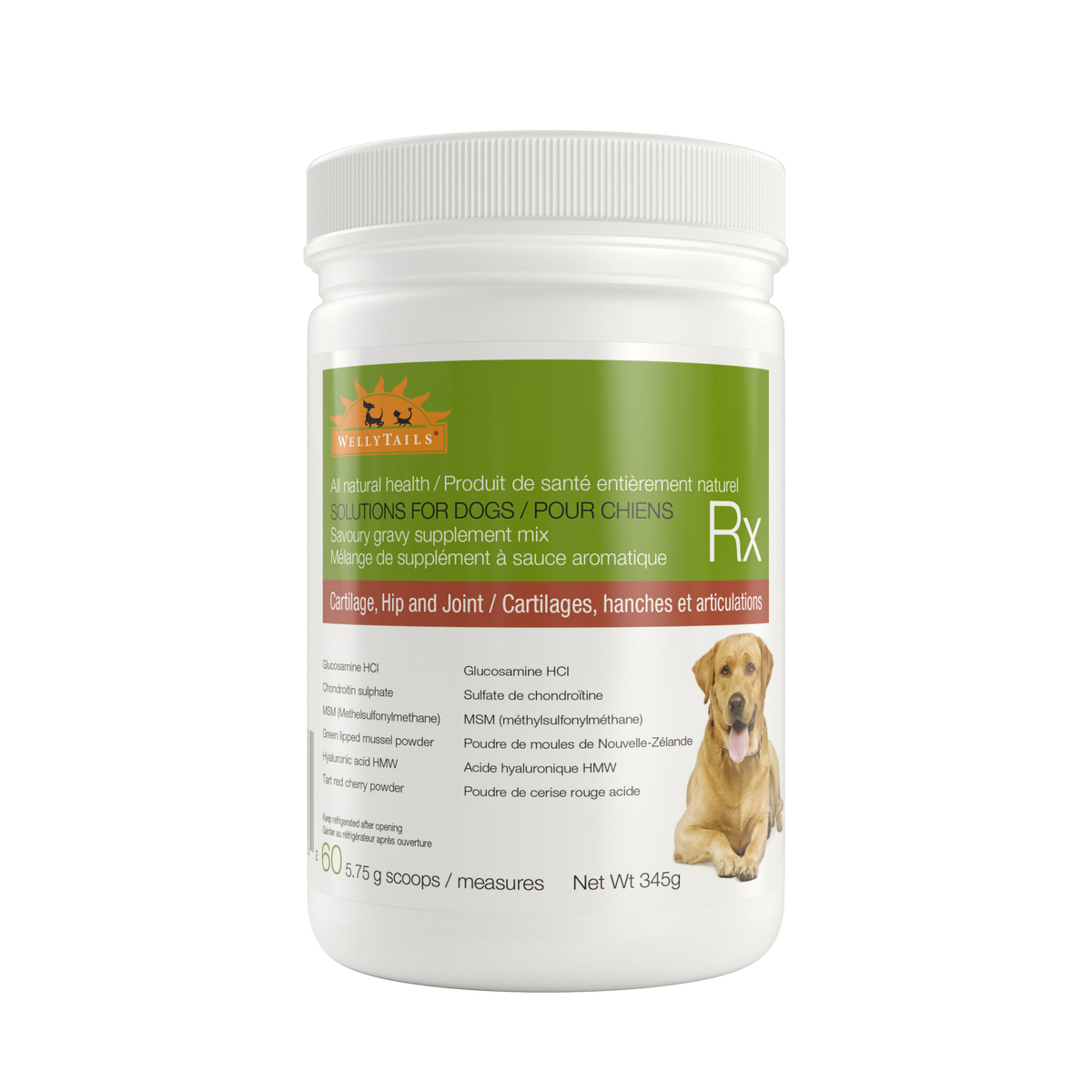 Cartilage, Hip & Joint Dog Rx Supplement 345 grams
