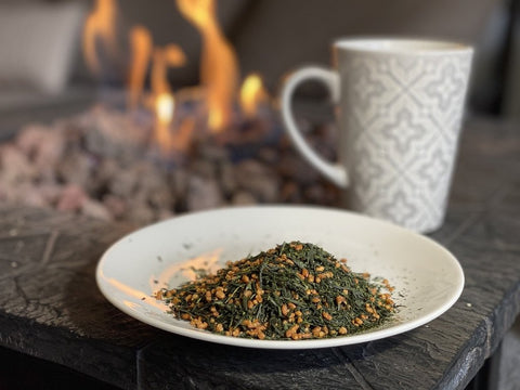 Genmaicha - The Backyard