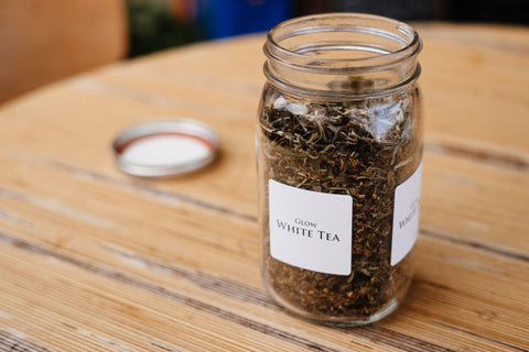 Glow (White Tea) - The Backyard