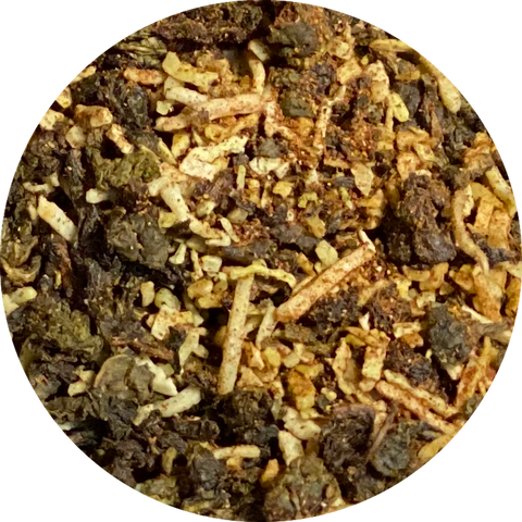 Cinnamon Coconut Island (Oolong Tea)