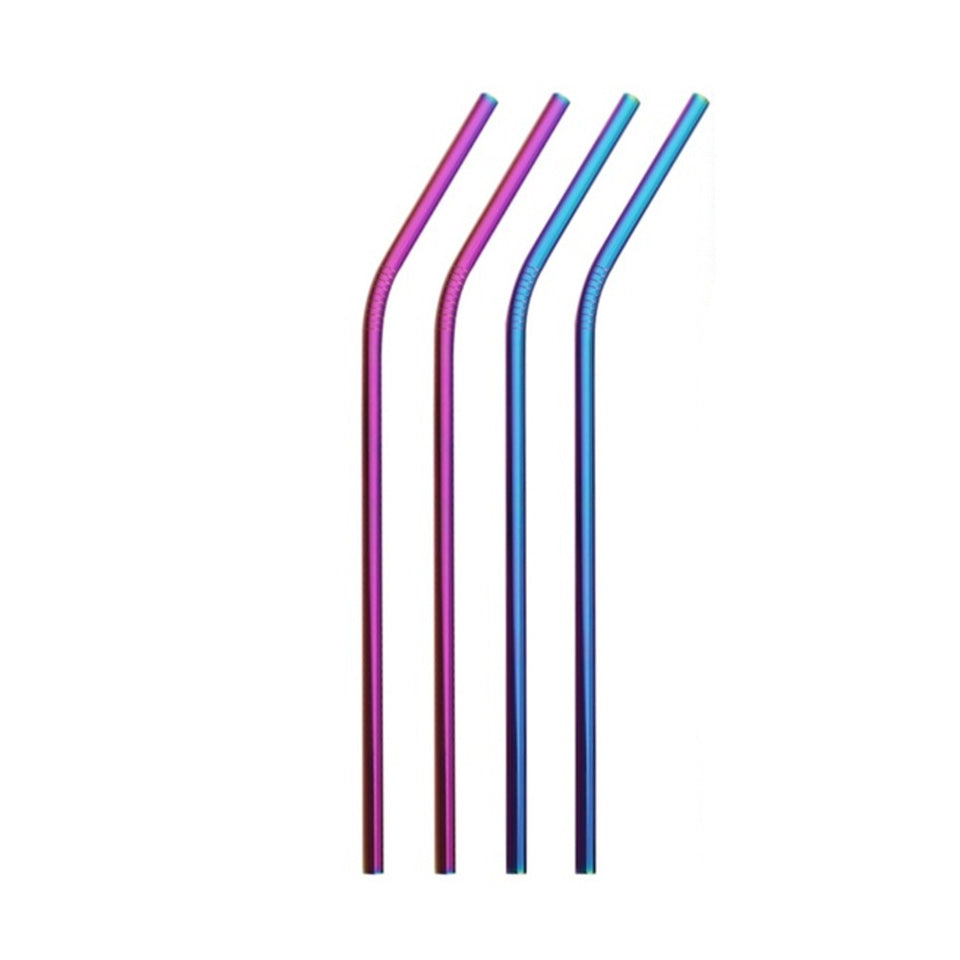 Stainless Steel Straws (x4)