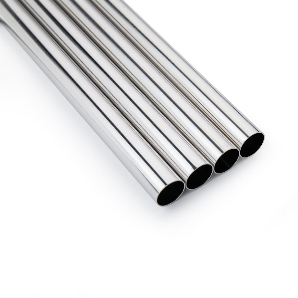 Chunky Stainless Steel Straws (x2)