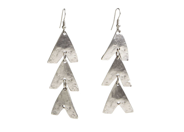 Aphrodite Silver Plated Earring