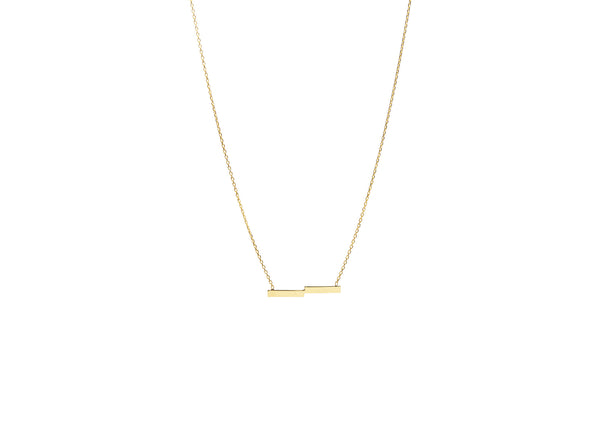 Casta Yellow Gold Plated Necklace