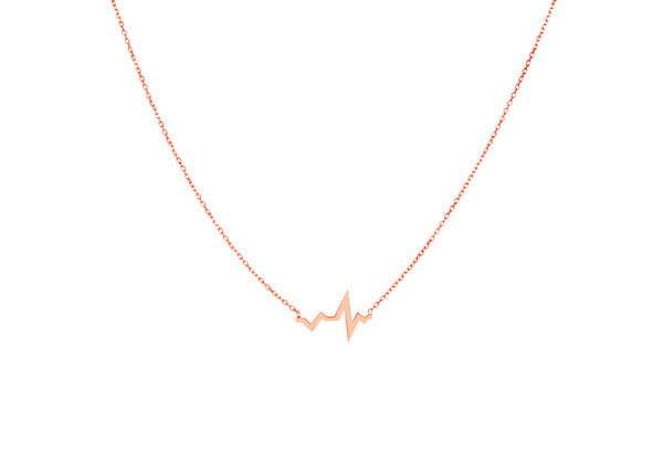 Corazon Rose Gold Plated Necklace