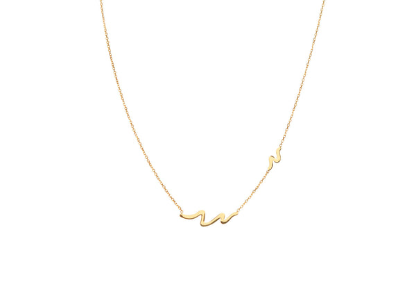 Capri Yellow Gold Plated Necklace