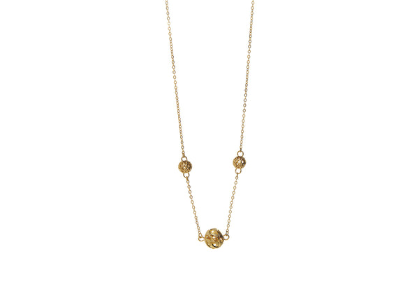 Oria Gold Plated Necklace
