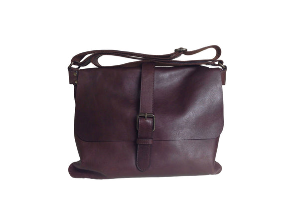 100% Leather Messenger Bag