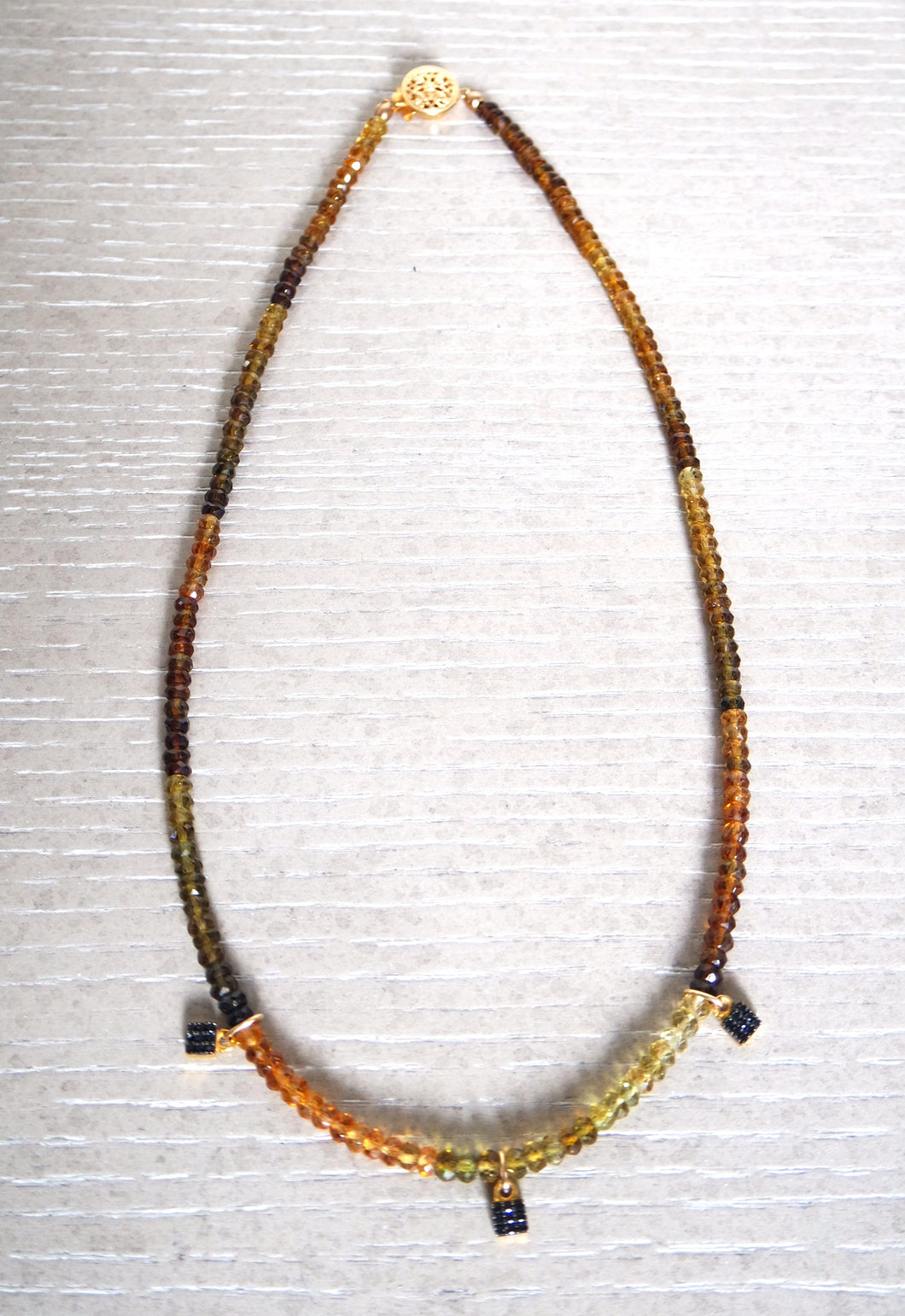Jacquelyn Spinel Necklace