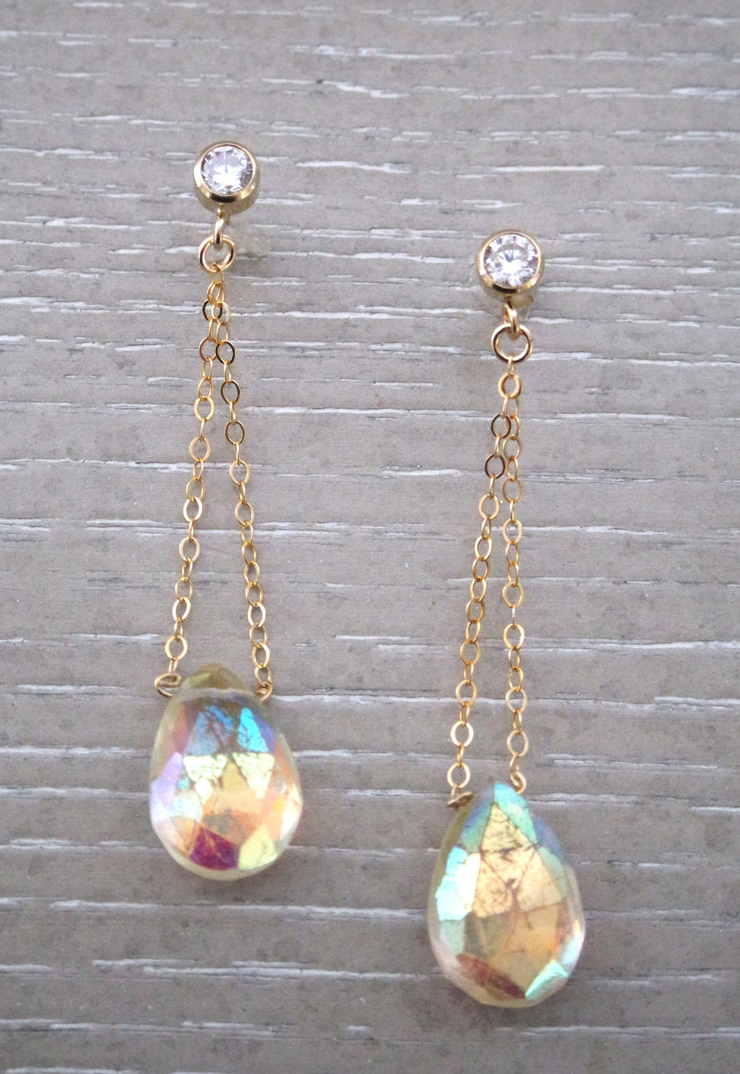 Faith Citrine Earrings