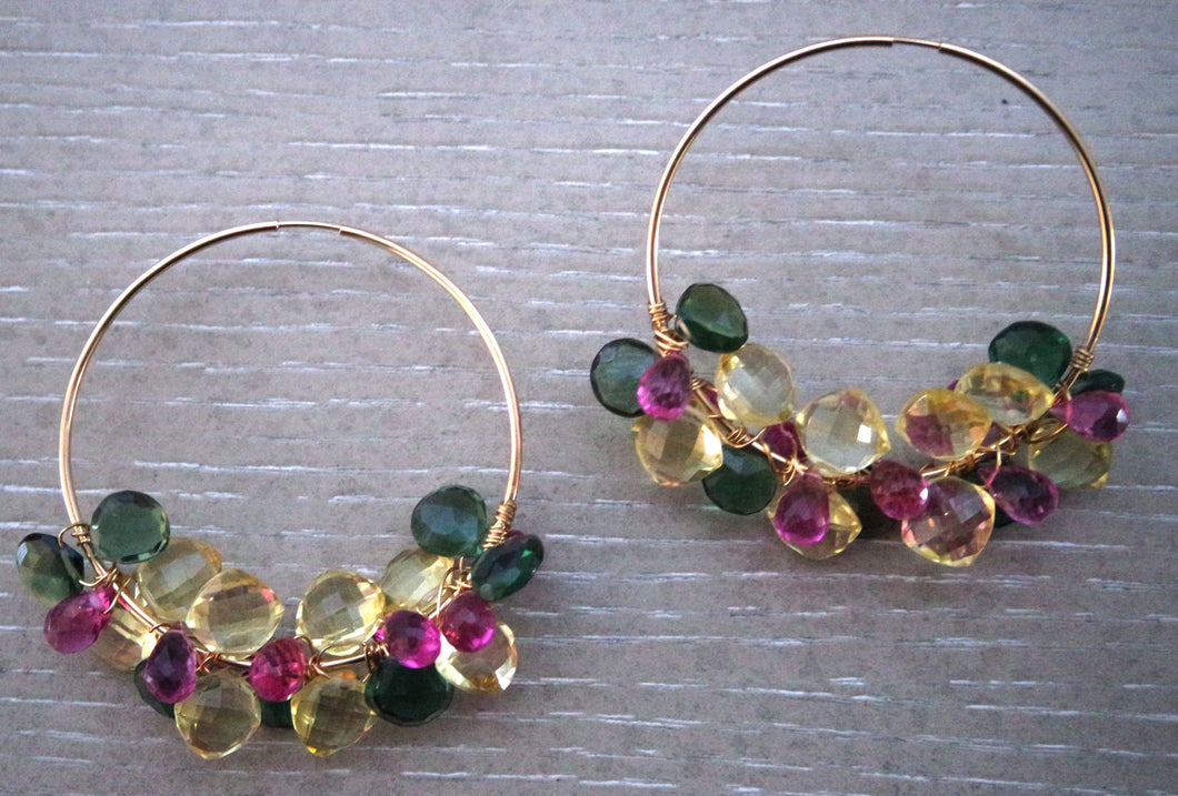 Lolo Multi-Gemstone Earrings