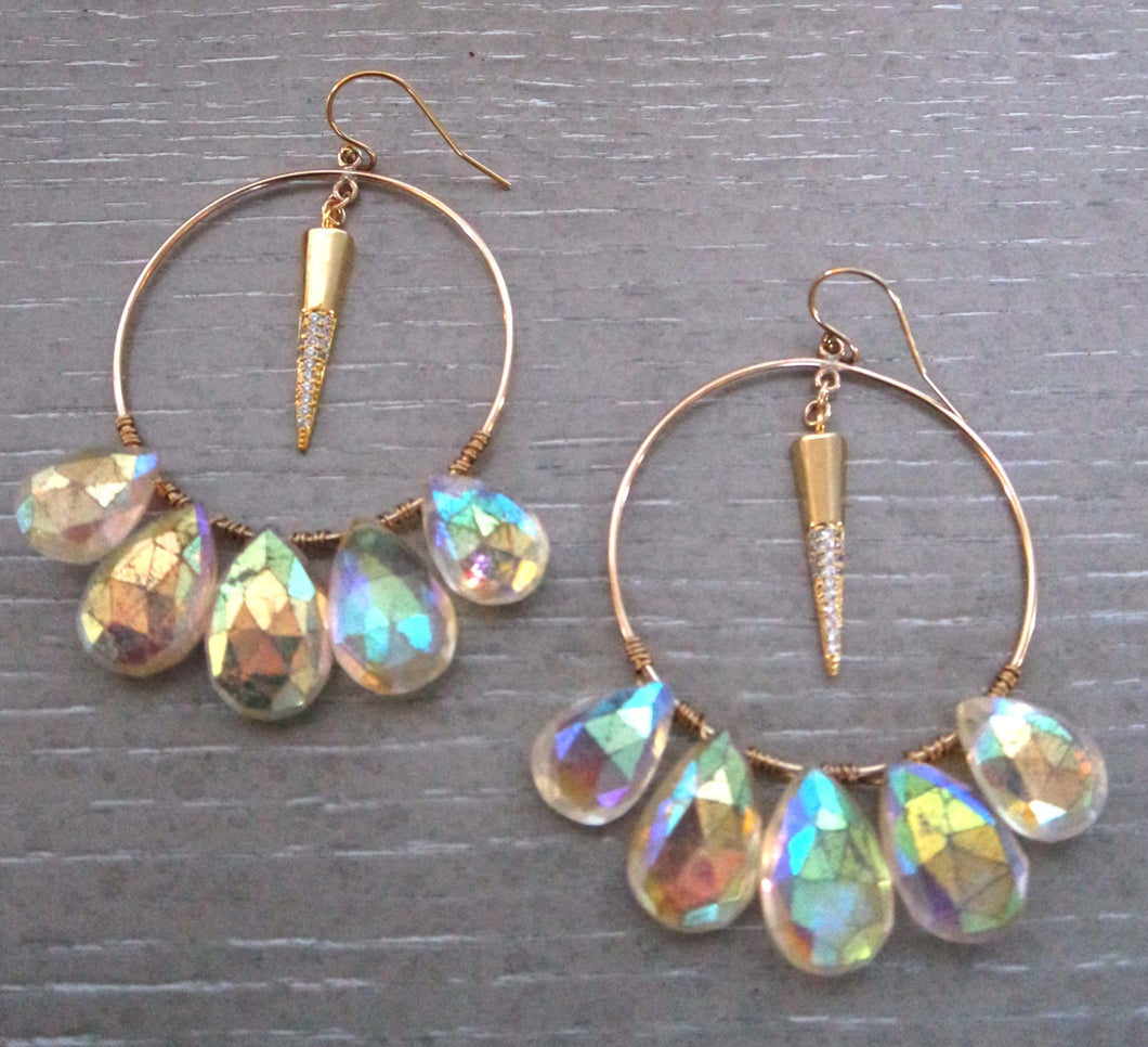 Maya Citrine Earrings