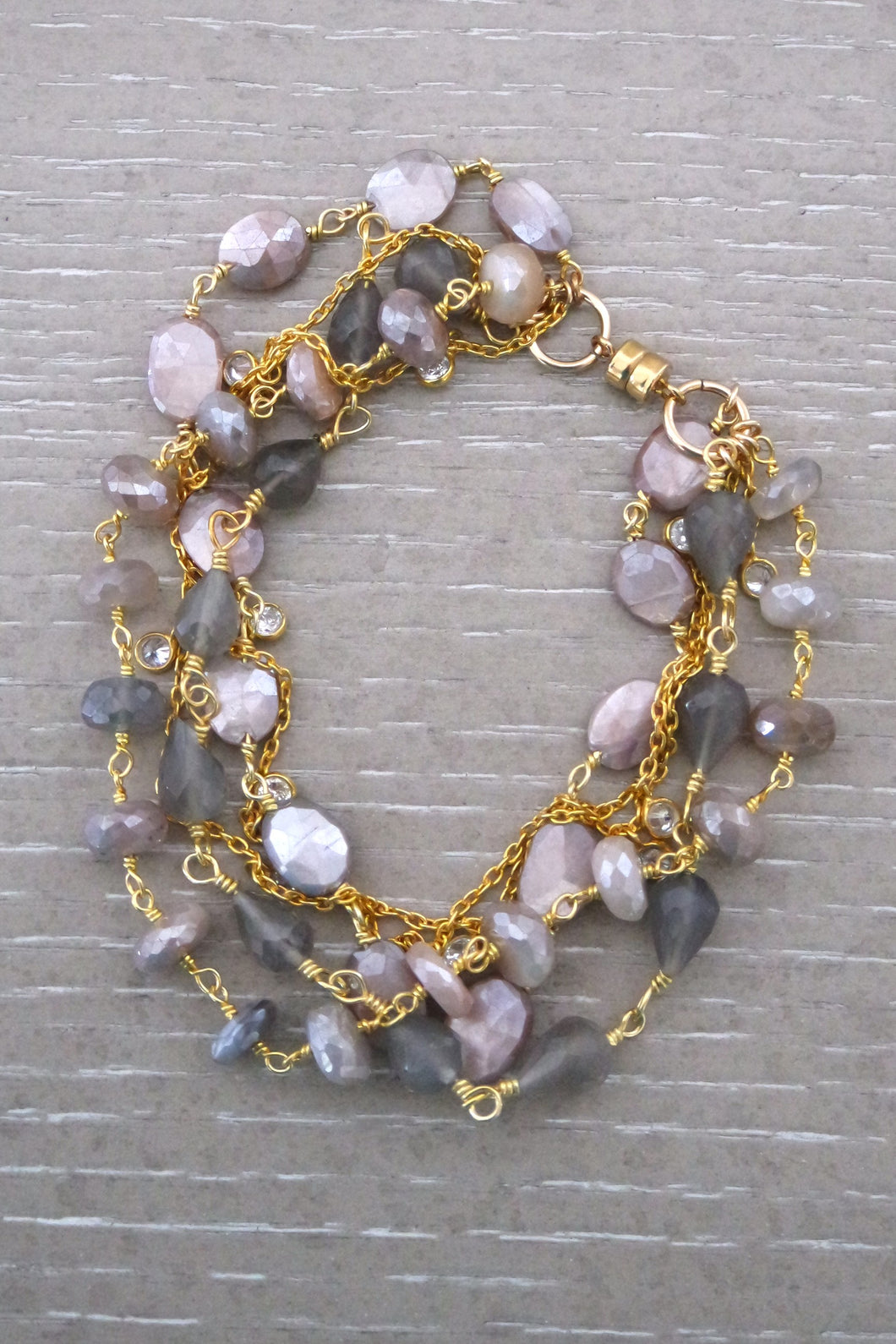 Haden Mixed Gemstone Bracelet