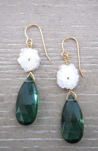 Kenzie Solar Quartz  Earrings