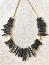 Load image into Gallery viewer, Sistine Smokey Topaz Gemstone Necklace