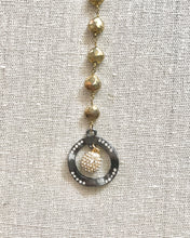 Load image into Gallery viewer, Zane Gold Pyrite Necklace