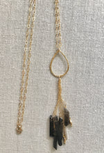 Load image into Gallery viewer, Cecily Smokey Topaz Gemstone Necklace