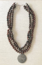 Load image into Gallery viewer, Shannon Garnet Necklace