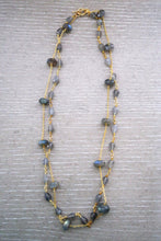 Load image into Gallery viewer, Sissy Labradorite Double Necklace