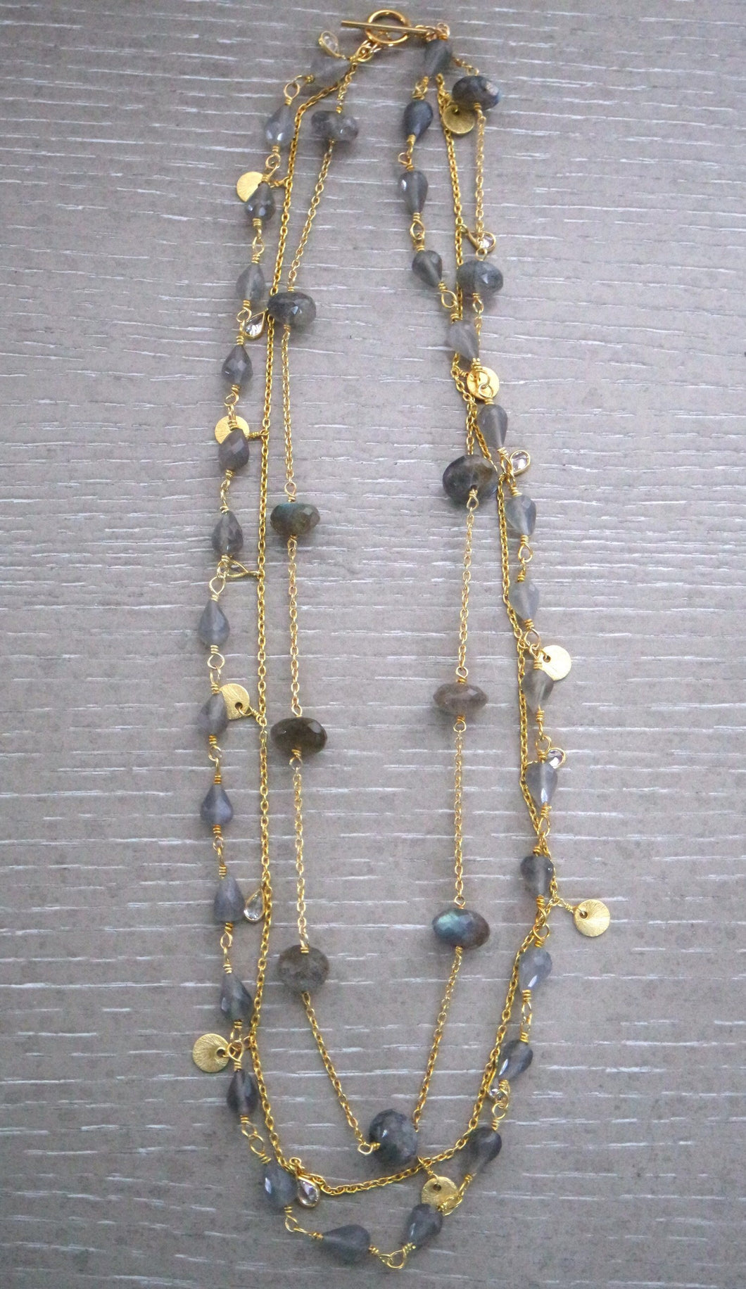 Sissy Labradorite Double Necklace