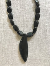 Load image into Gallery viewer, Soho Black Obsidian Necklace