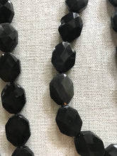 Load image into Gallery viewer, Bleaker Black Obsidian Necklace