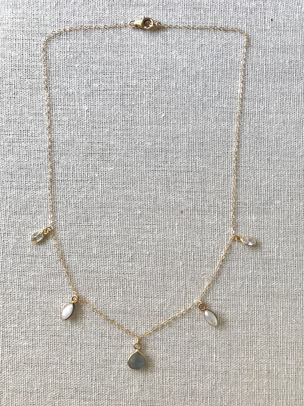 The Dainty Collection ~ Moonstone Necklace