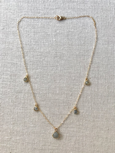 The Dainty Collection ~ Labradorite Necklace