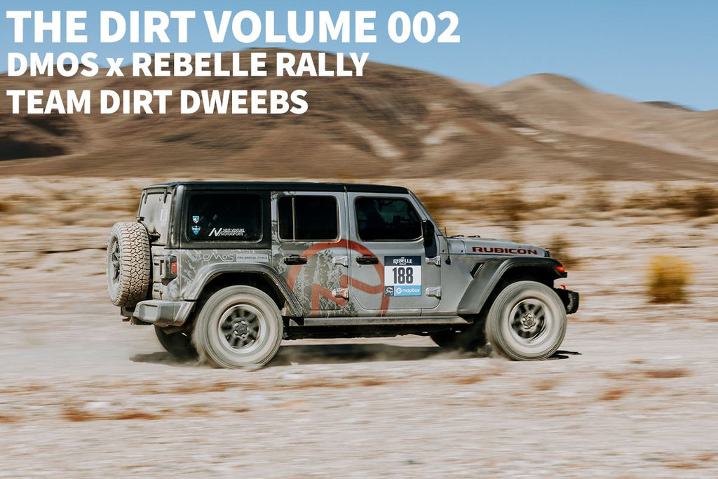 The Dirt #002:  DMOS x Rebelle Rally – Team Dirt Dweebs