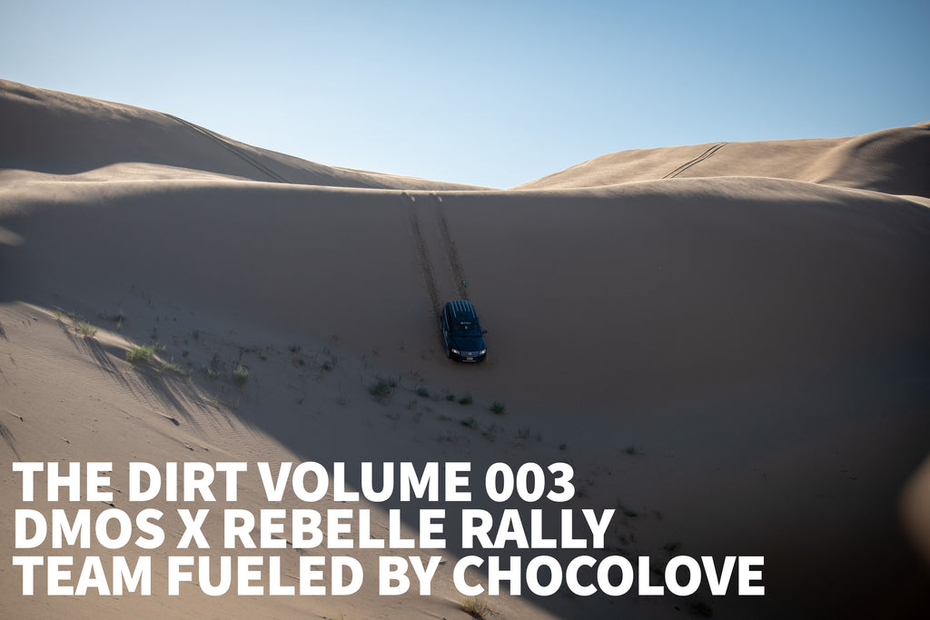 The Dirt #003: DMOS x Rebelle Rally – Team Fueled by Chocolove