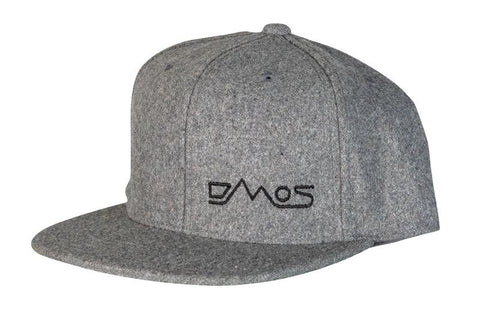 DMOS Wool Snapback Hat Apparel DMOS | Pro Shovel Tools Light Grey
