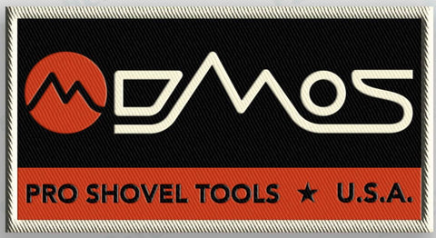DMOS Patch Patch DMOS | Pro Shovel Tools Orange/White